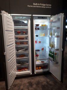 Bild: Derek Stadthalter - Kühlschrank mit unterschiedlichen Fächern